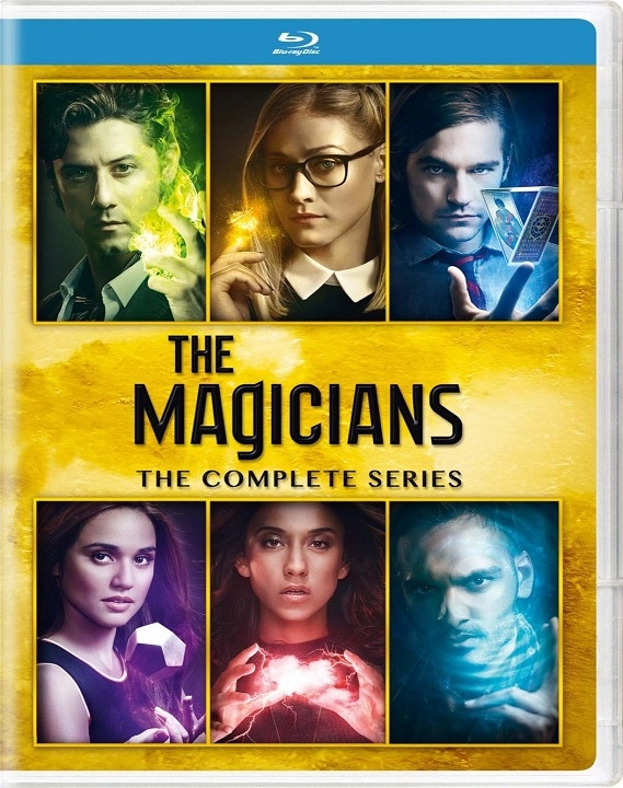 The Magicians: Complete Series (Blu-ray)(Region Free)
