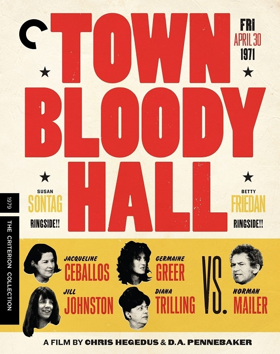 Town Bloody Hall (The Criterion Collection)(Blu-ray)(Region A)(Pre-order / Aug 18)
