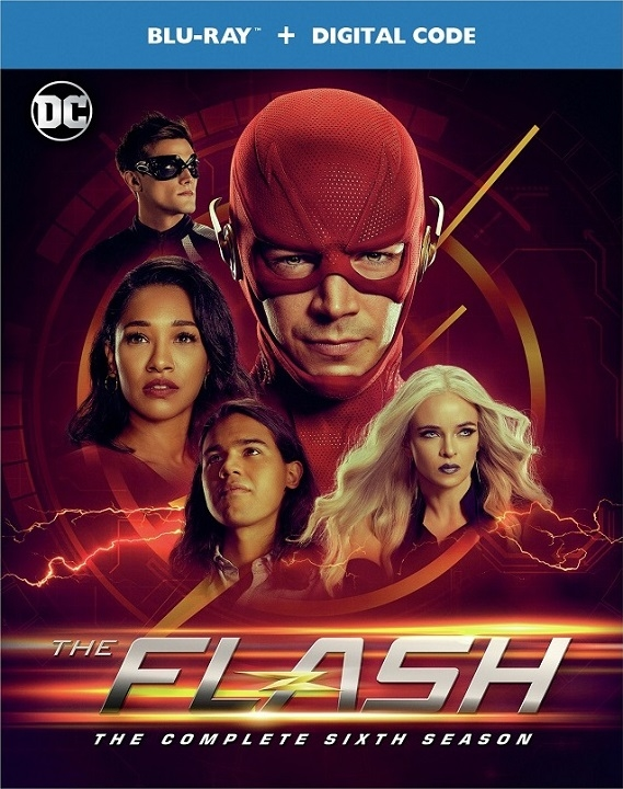 The Flash: The Complete Sixth Season (Blu-ray)(Region Free)(Pre-order / Aug 25)