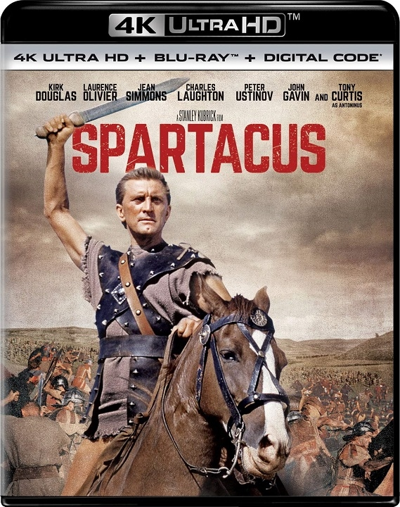 Spartacus in 4K Ultra HD Blu-ray at HD MOVIE SOURCE