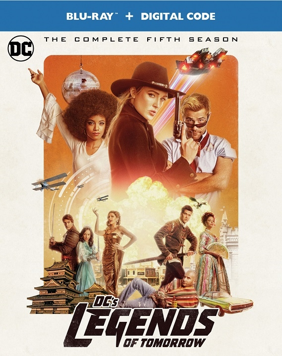 DC's Legends of Tomorrow: The Complete Fifth Season (Blu-ray)(Region Free)