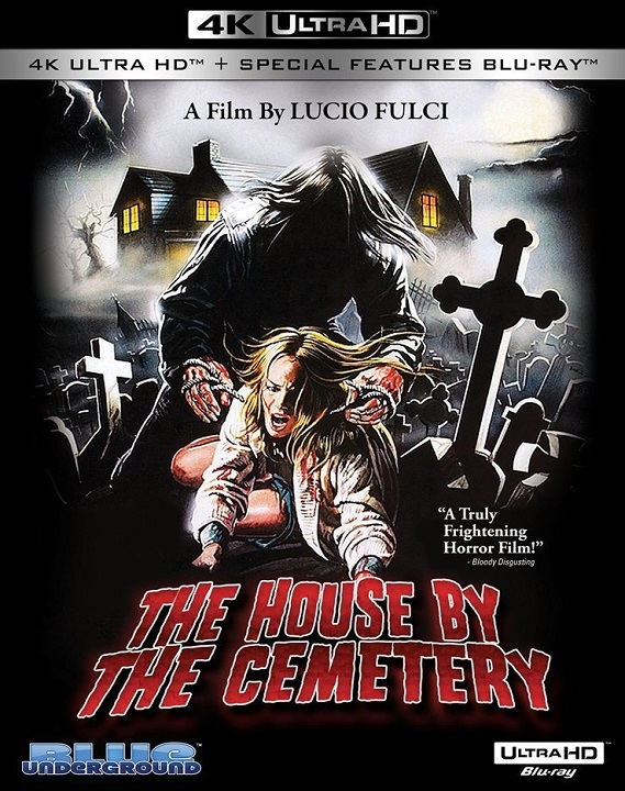 The House by the Cemetery in 4K Ultra HD Blu-ray at HD MOVIE SOURCE