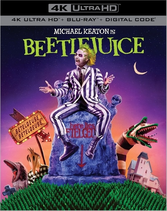 Beetlejuice in 4K Ultra HD Blu-ray at HD MOVIE SOURCE