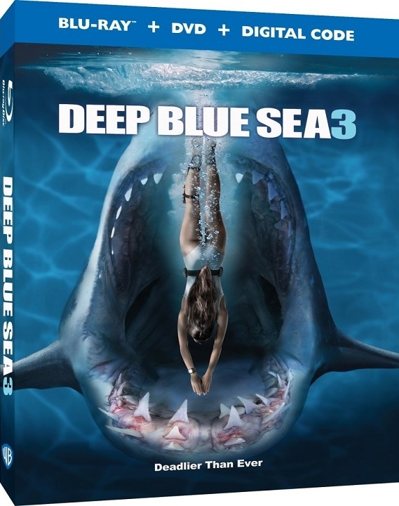 Deep Blue Sea 3 (Blu-ray)(Region Free)(Pre-order / Aug 25)