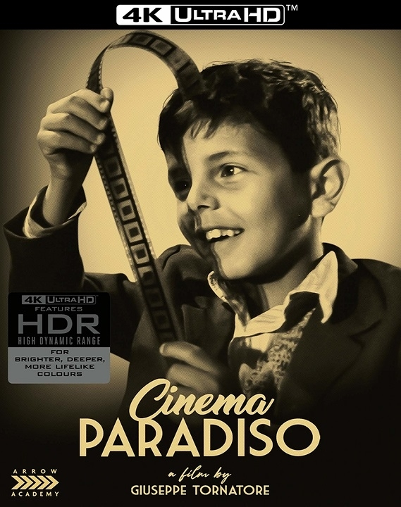 Cinema Paradiso in 4K Ultra HD Blu-ray at HD MOVIE SOURCE
