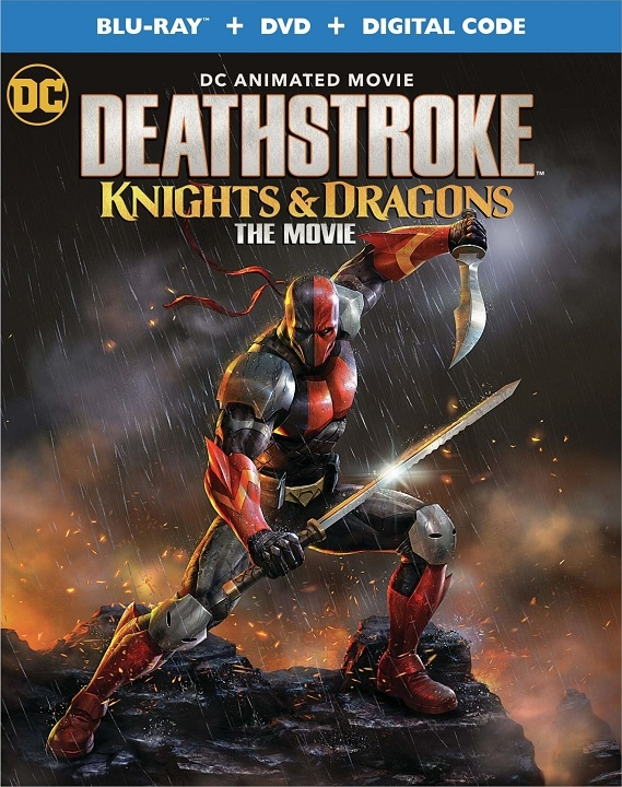 Deathstroke: Knights & Dragons - The Movie (Blu-ray)(Region Free)(Pre-order / Aug 18)