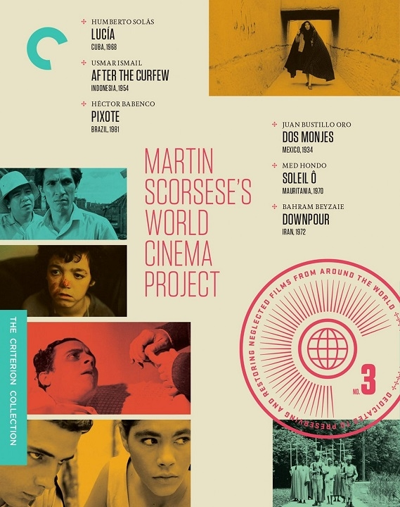 Martin Scorsese's World Cinema Project, No. 3 (The Criterion Collection)(Blu-ray)(Region A)