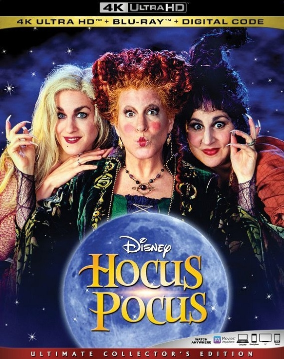 Hocus Pocus in 4K Ultra HD Blu-ray at HD MOVIE SOURCE