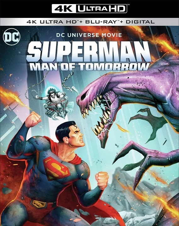 Superman Man of Tomorrow in 4K Ultra HD Blu-ray at HD MOVIE SOURCE
