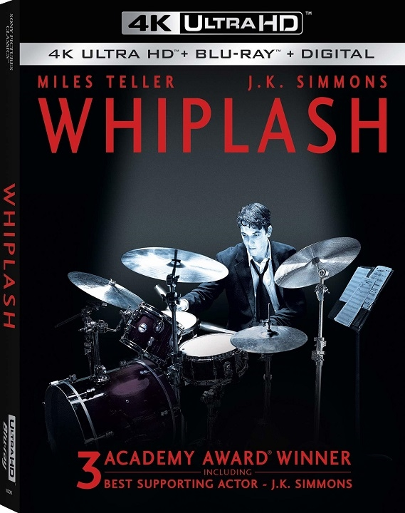 Whiplash in 4K Ultra HD Blu-ray at HD MOVIE SOURCE