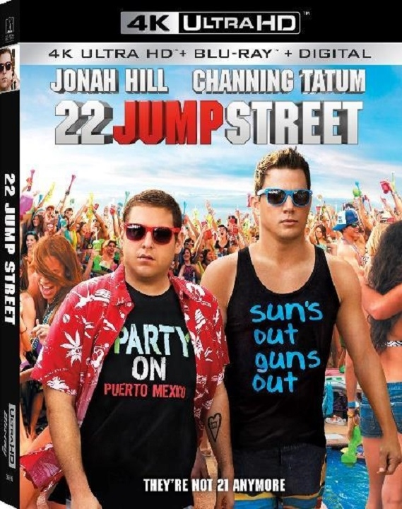 22 Jump Street in 4K Ultra HD Blu-ray at HD MOVIE SOURCE