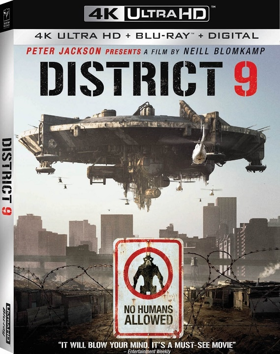 District 9 in 4K Ultra HD Blu-ray at HD MOVIE SOURCE