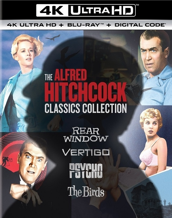 Alfred Hitchcock Classics Collection in 4K Ultra HD Blu-ray at HD MOVIE SOURCE