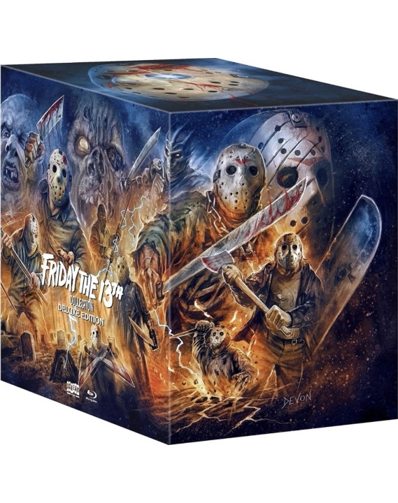 Friday The 13th Collection (Deluxe Edition)(Blu-ray)(Region A)