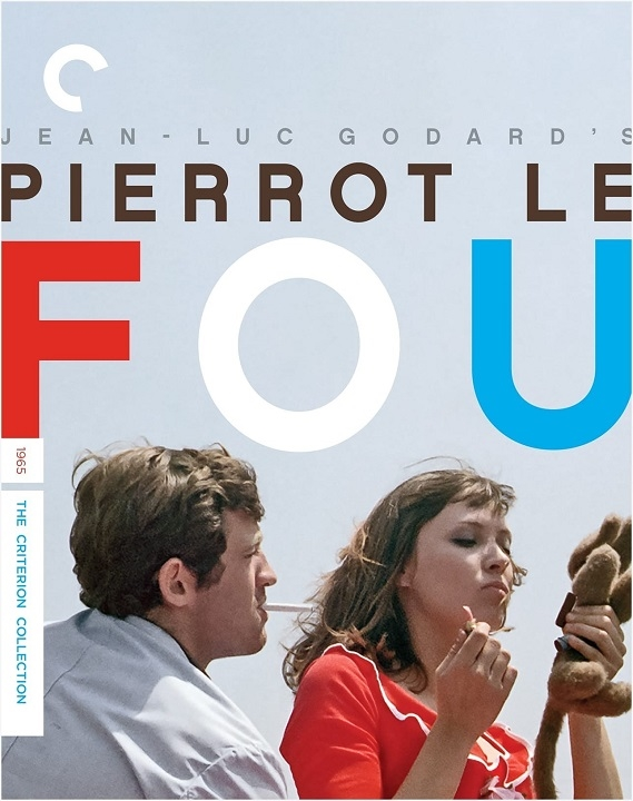 Pierrot le fou (The Criterion Collection)(Blu-ray)(Region A)(Pre-order / Oct 6)