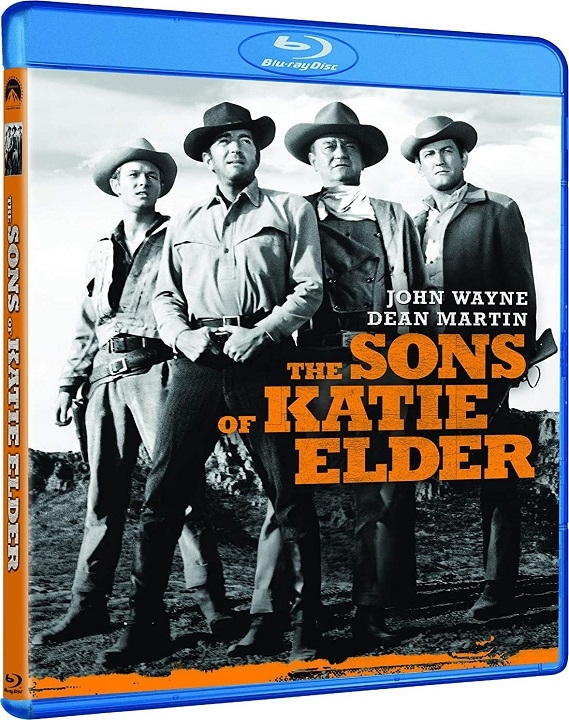 The Sons of Katie Elder (Blu-ray)(Region Free)