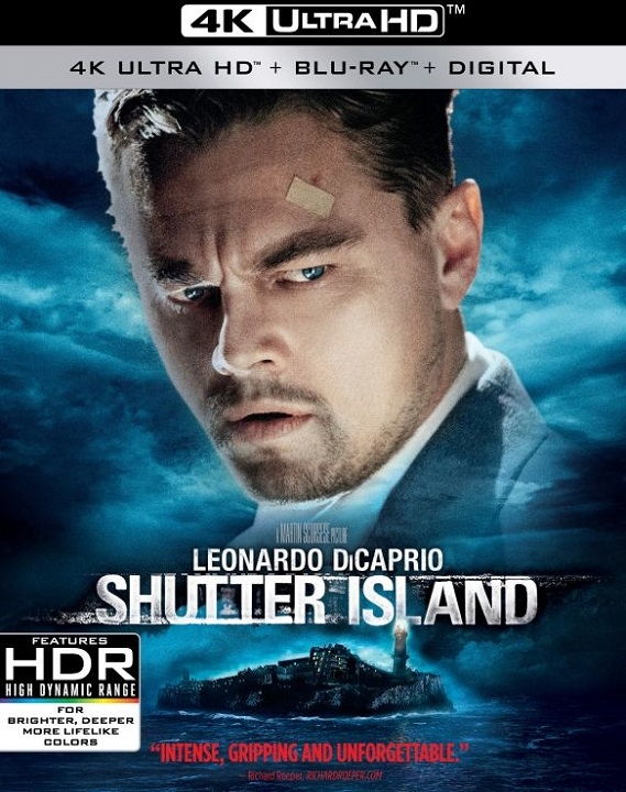 Shutter Island in 4K Ultra HD Blu-ray at HD MOVIE SOURCE
