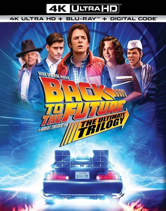 Back to the Future Trilogy in 4K Ultra HD Blu-ray at HD MOVIE SOURCE