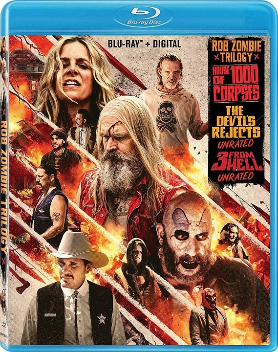 Rob Zombie Trilogy (Blu-ray)(Region A)