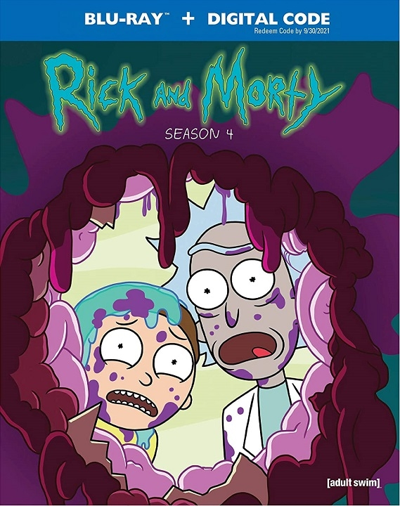 Rick and Morty: Season 4 (Blu-ray)(Region A)