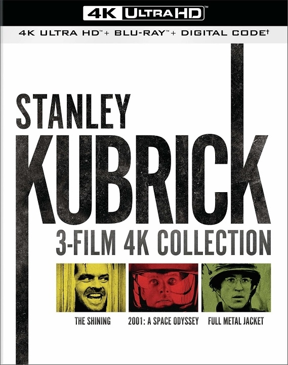 Stanley Kubrick 3 Film Collection 4K Ultra HD Blu-ray