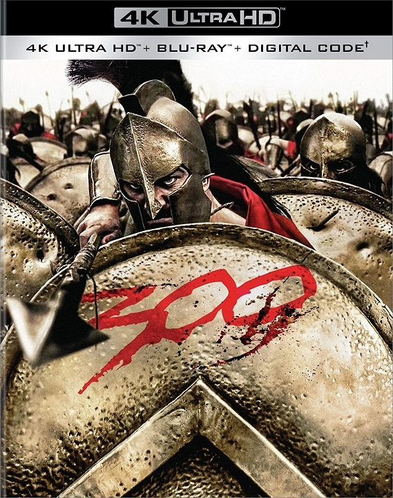 300 (4K Ultra HD Blu-ray)(Pre-order / Oct 6)