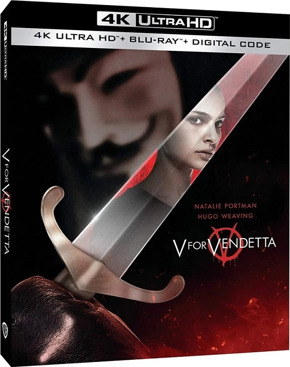 V for Vendetta (4K Ultra HD Blu-ray)