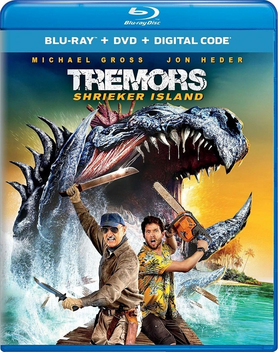Tremors: Shrieker Island (Blu-ray)(Region Free)