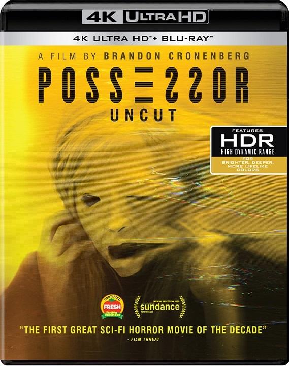 Possessor in 4K Ultra HD Blu-ray at HD MOVIE SOURCE