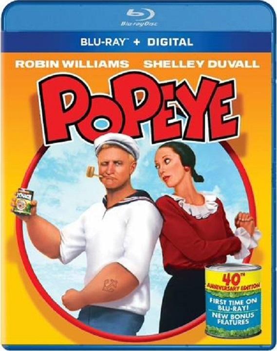 Popeye 1980 Blu-ray