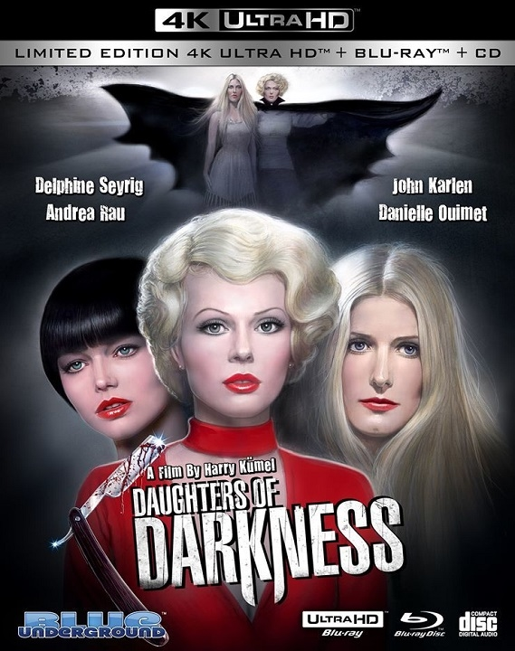 Daughters of Darkness in 4K Ultra HD Blu-ray at HD MOVIE SOURCE