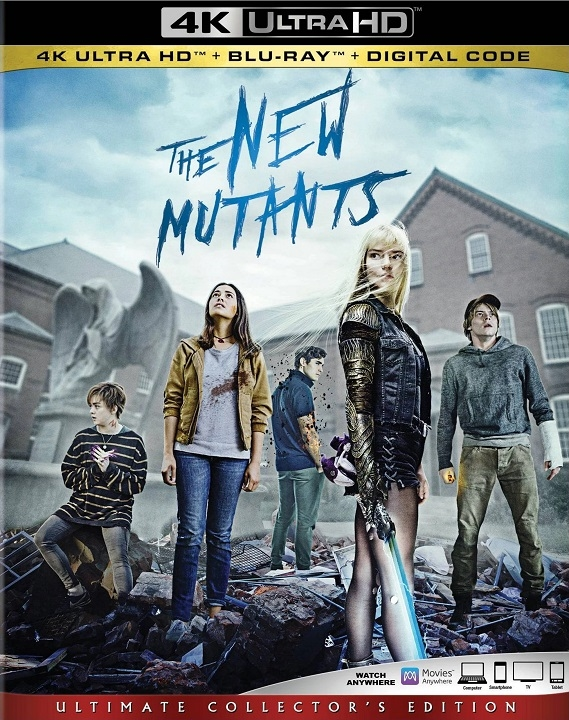 The New Mutants in 4K Ultra HD Blu-ray at HD MOVIE SOURCE