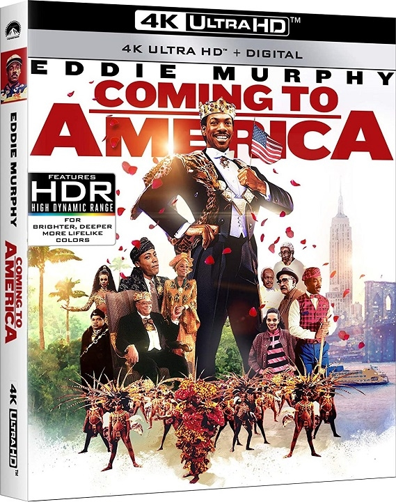 Coming to America in 4K Ultra HD Blu-ray at HD MOVIE SOURCE