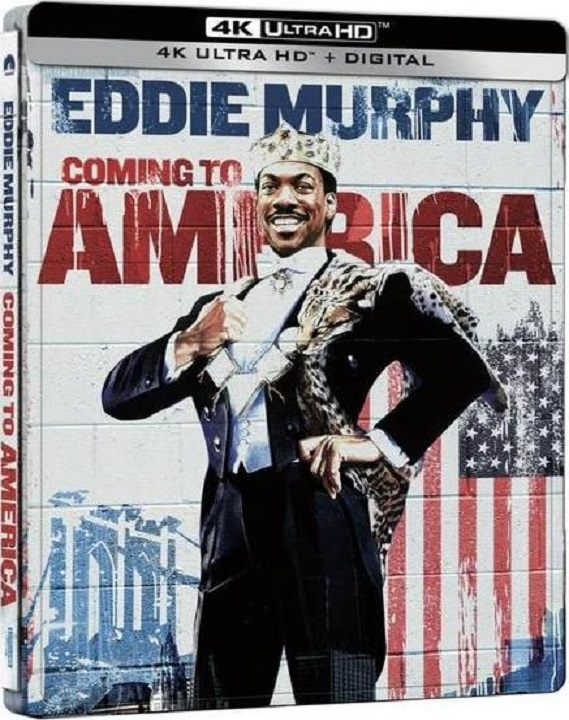 Coming to America SteelBook in 4K Ultra HD Blu-ray at HD MOVIE SOURCE