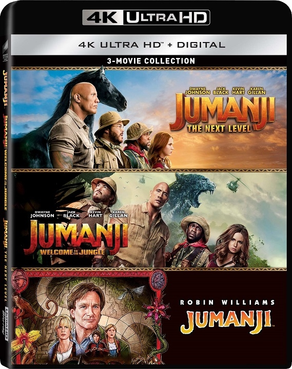 Jumanji 3 Movie Collection 4K Ultra HD at HD MOVIE SOURCE