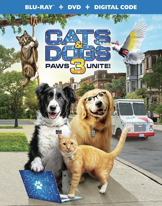 Cats & Dogs 3 Paws Unite Blu-ray