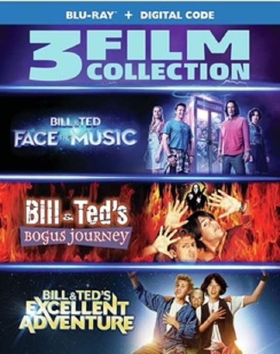 Bill and Ted 3 Film Collection Blu-ray