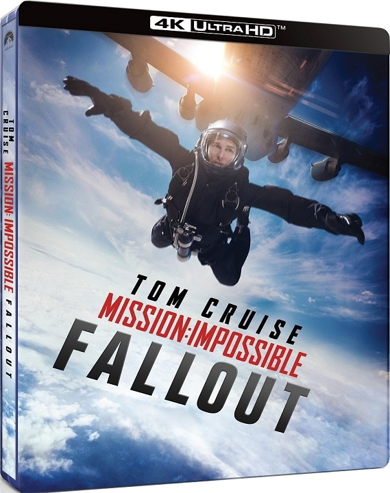 Mission Impossible Fallout SteelBook 4K Ultra HD