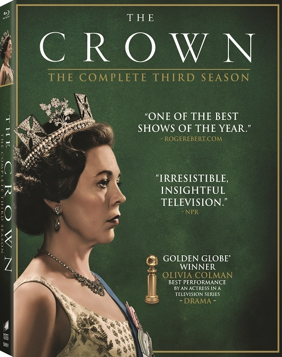 The Crown The Complete Third Season Blu-ray