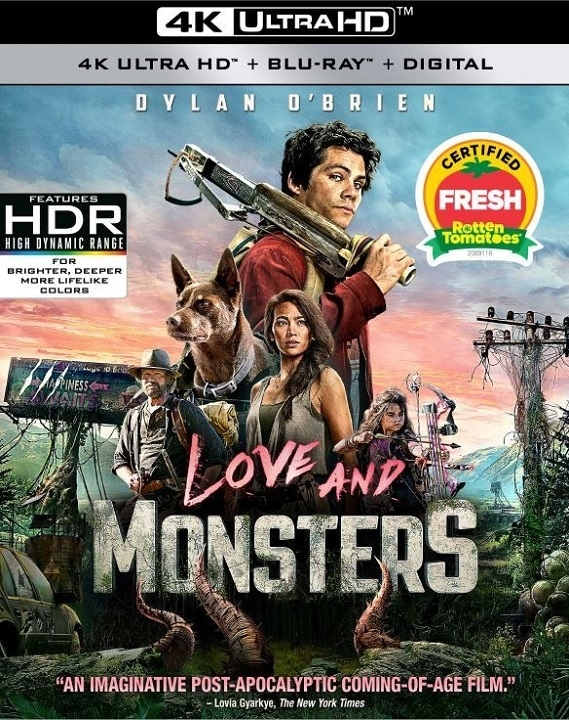 Love and Monsters in 4K Ultra HD Blu-ray at HD MOVIE SOURCE