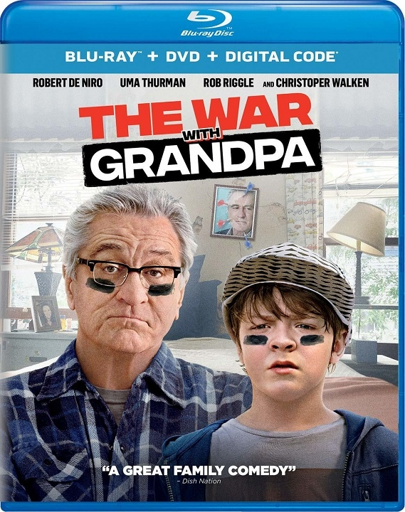 The War with Grandpa Blu-ray