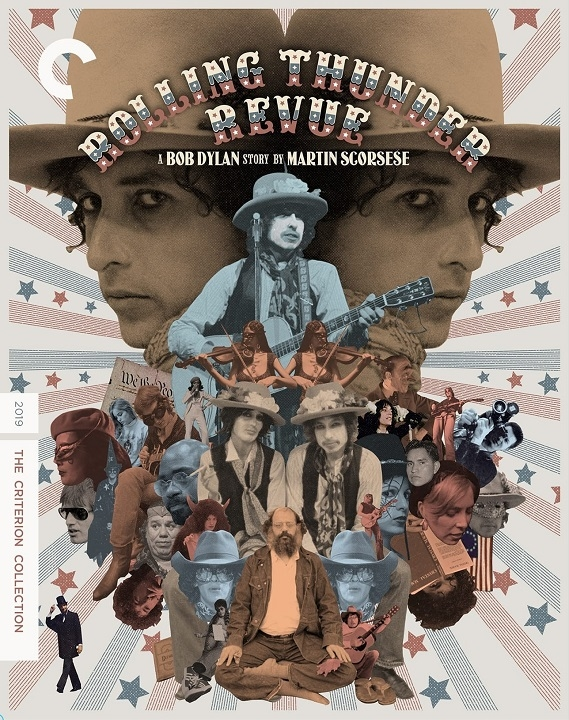 Rolling Thunder Revue: A Bob Dylan Story by Martin Scorsese (The Criterion Collection)(Blu-ray)(Region A)