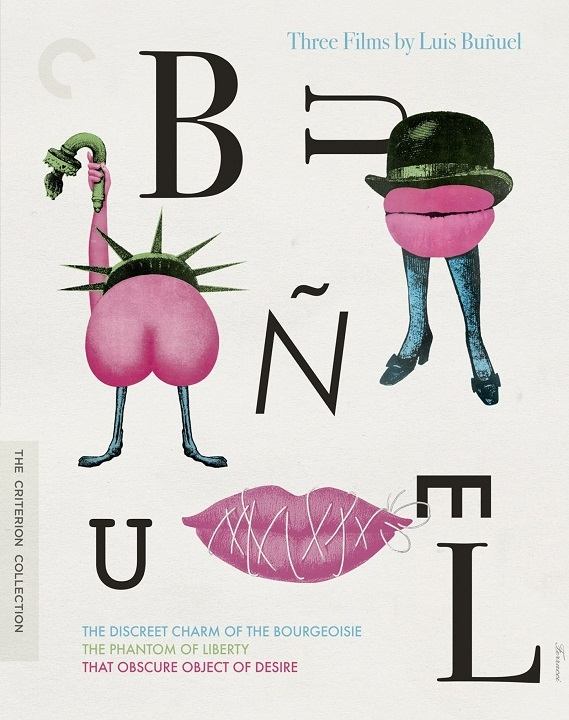 Three Films by Luis Buñuel (DigiPack)(The Criterion Collection)(Blu-ray)(Region A)