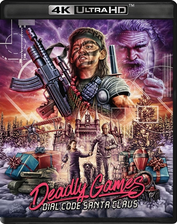 Deadly Games (aka Dial Code Santa Claus) in 4K Ultra HD Blu-ray at HD MOVIE SOURCE