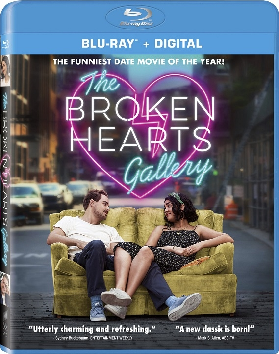 The Broken Hearts Gallery Blu-ray