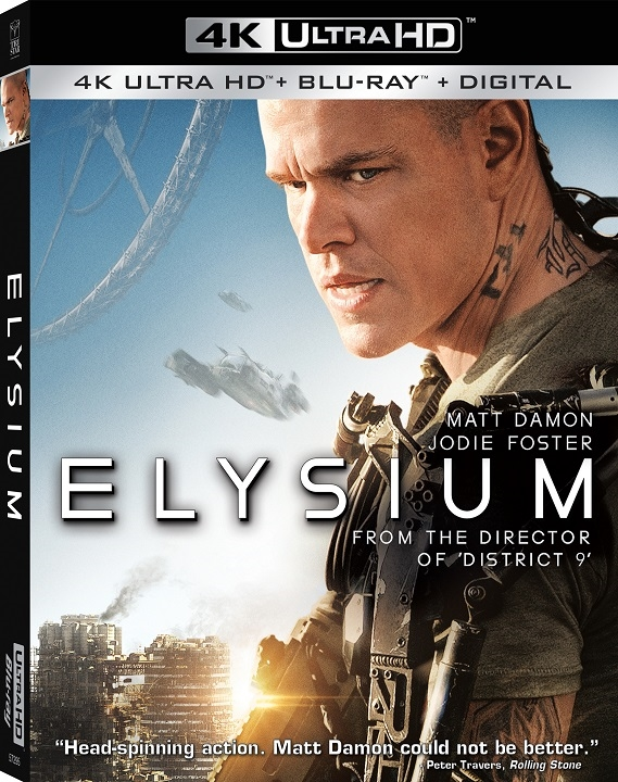 Elysium in 4K Ultra HD Blu-ray at HD MOVIE SOURCE