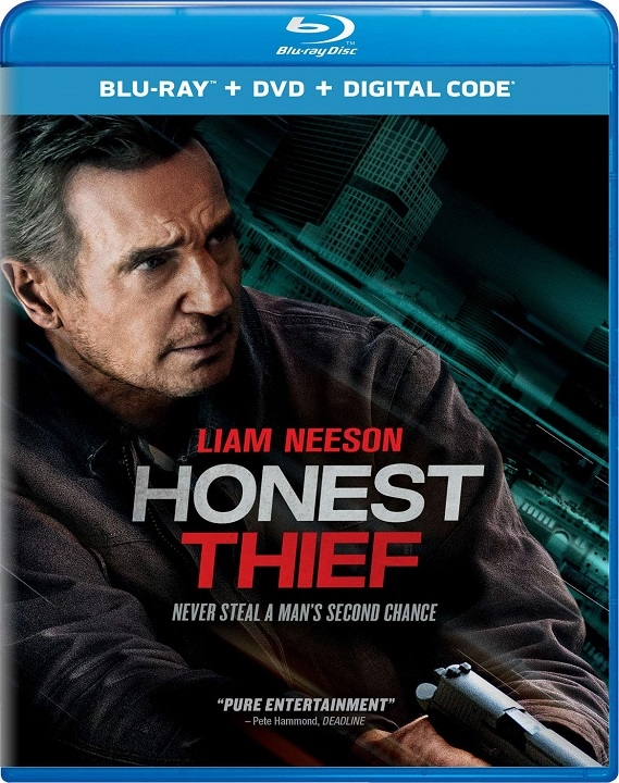 Honest Thief Blu-ray