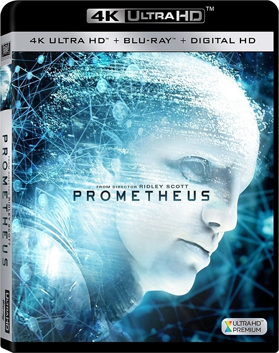 Prometheus 4K Ultra HD UHD Blu-ray