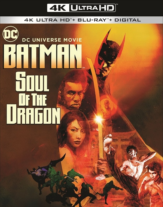 Batman Soul of the Dragon in 4K Ultra HD Blu-ray at HD MOVIE SOURCE