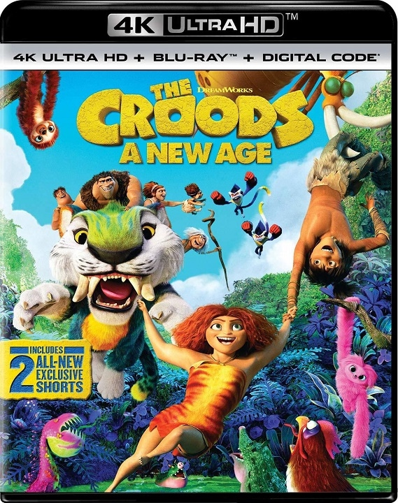 The Croods 2 A New Age in 4K Ultra HD Blu-ray at HD MOVIE SOURCE